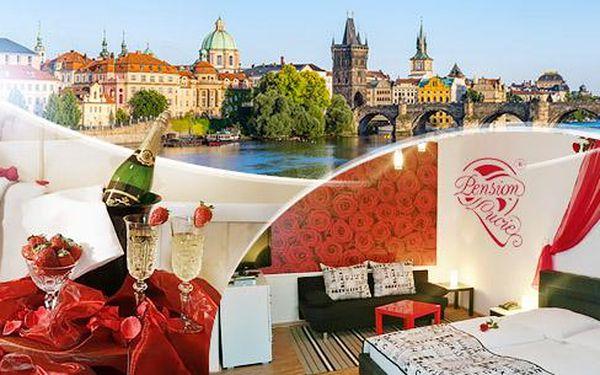 Praha na 2-3 dny pro dva se snídaněmi a možností wellness ve 4* penzionu roku blízko centra