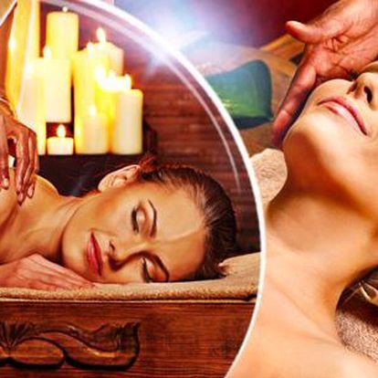 90min. Indická celotělová masáž Abhyanga v Ostravě nebo Havířově.