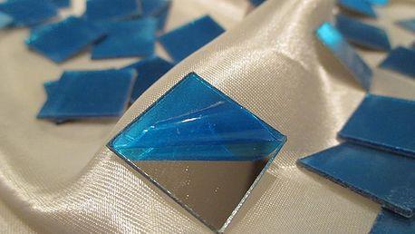 Zrcadlové čtverečky 100 ks 2 x 2 cm