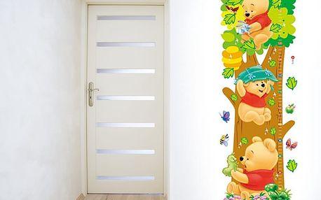 Metr medvídek Pú 25 x 70 cm