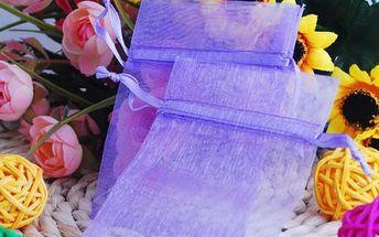 Sada fialových sáčků - 100 kusů