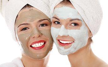 Kosmetické ošetření pleti 1+1 zdarma