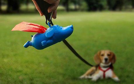 Přívěšek se sáčky na psí exkrementy Mighty Dog