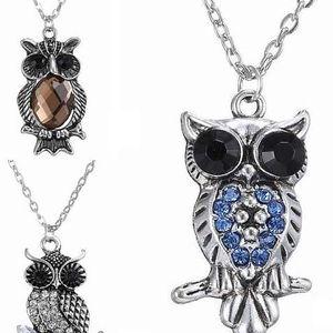 Dámský náhrdelník se sovičkou ve třech variantách - poštovné zdarma