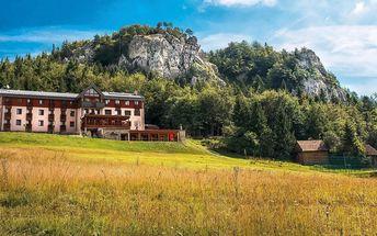 Jedinečná wellness dovolená v horském prostředí