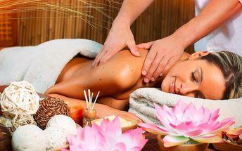 Ajurvédská masáž celého těla: 60 nebo 90 minut