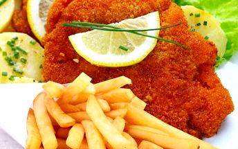 Výborné kuřecí miniřízečky s hranolkami