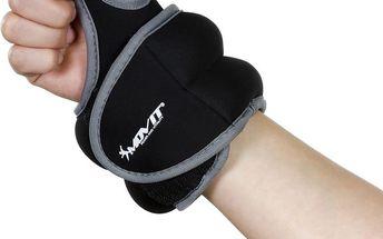 MOVIT neoprenová kondiční zátěž 1,5 kg, černá