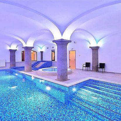 4–6denní wellness pobyt pro 2 s polopenzí v hotelu Malý Pivovar u Mladé Boleslavi