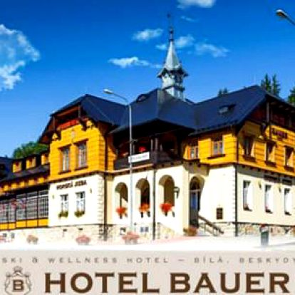 Relax v Hotelu Bauer *** s polopenzí a volným vstupem do moderního wellness centra