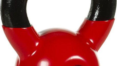 Kettlebell činka 4 kg MOVIT s vinylovým potahem