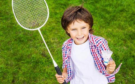 Měsíční školička badmintonu pro děti do 16 let
