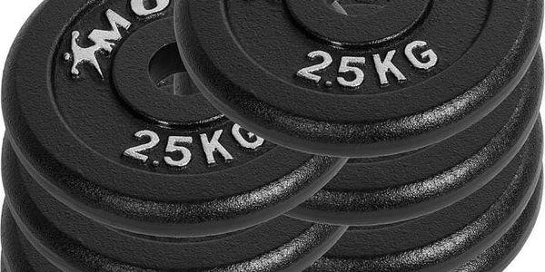 MOVIT 6354 Profesionální sada činek o celkové hmotnosti 30 kg2