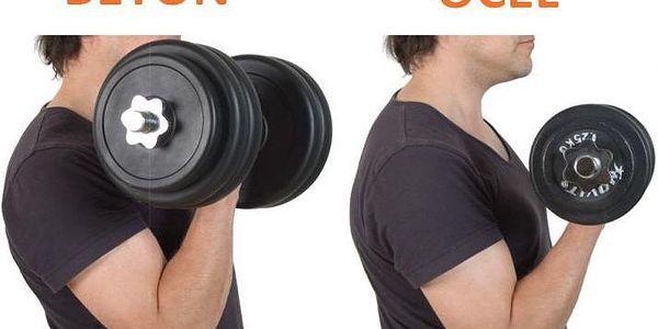 MOVIT 6354 Profesionální sada činek o celkové hmotnosti 30 kg5
