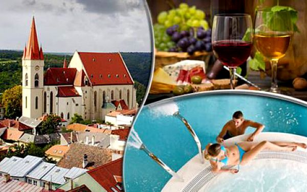 Vinařský pobyt s polopenzí i ochutnávkou vín v Hotelu BAX***