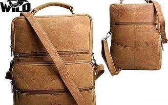 Pánská taška z pravé kůže LB-138-H