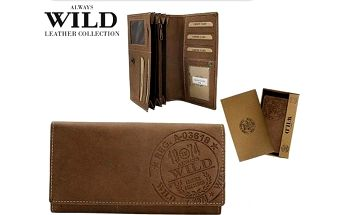 Dámská peněženka ALWAYS WILD z pravé kůže