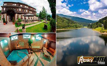 Alpský hotel ve Špindlu s neomezeným wellness, platnost do prosince 2016