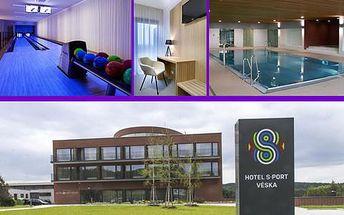 Pobyt ve všední dny pro dva v Hotelu S-port Véska***+ s polopenzí a sportovním vyžitím
