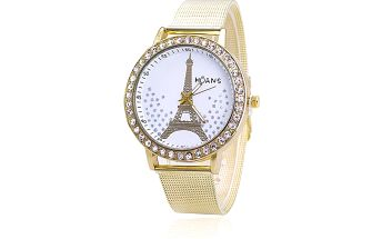 Dámské hodinky s Eiffelovou věží