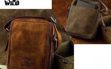 Pánská kožená taška přes rameno 5031-CBH