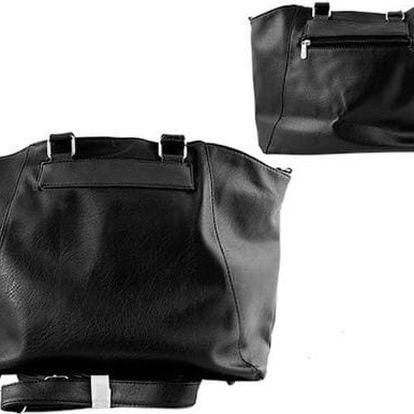 Dámská kabelka Paul Rossi Shopper černá