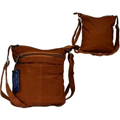 Dámská kabelka z ekokůže LDN-13 hnědá