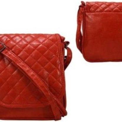 Dámská kabelka z ekokůže 652 Red