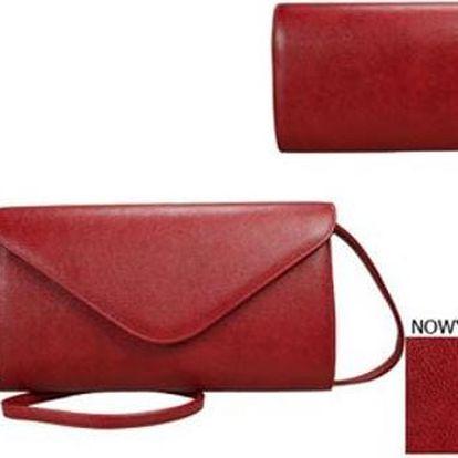 Dámská kabelka psaníčko Red 02