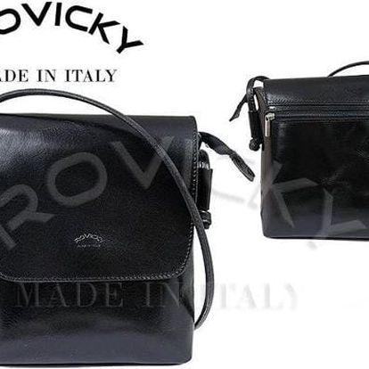 Dámská kabelka z pravé kůže TWR-3 Black