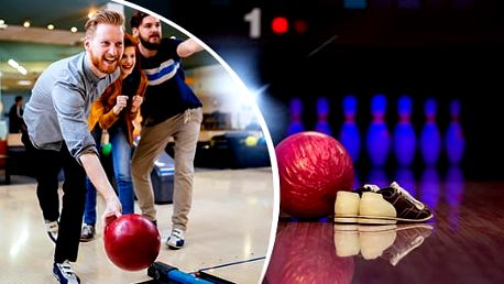 2 hodiny bowlingu až pro 10 osob již od 15 Kč/osoba s možností volby využití voucheru