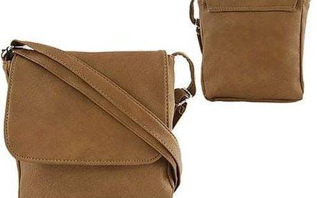 Dámská kabelka z ekokůže TC-8 Brown