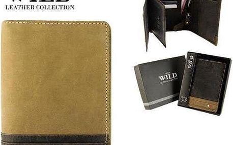 Pánská peněženka z pravé kůže N4-R