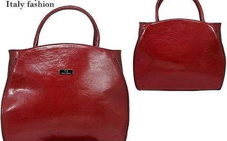 Dámská kabelka z ekokůže tmavě Dark red