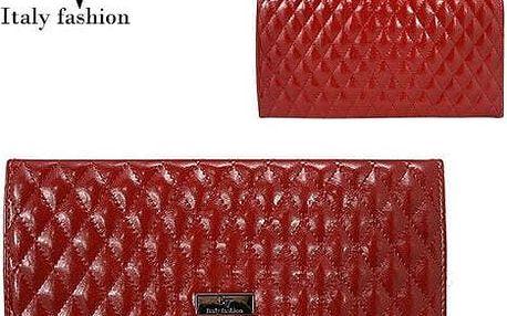 Malá dámská kabelka Italy Fashion červená