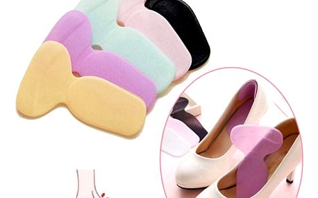 Silikonové vložky do bot na vysokém podpatku