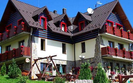 Pobyt pro dva s polopenzí ve stylovém penzionu Slovakia. Vstup do vířivky či sauny a zapůjčení kol.