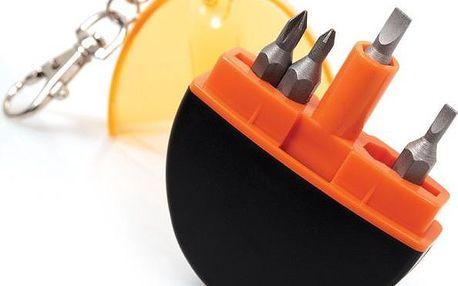 Přívěsek na klíče mini šroubovák