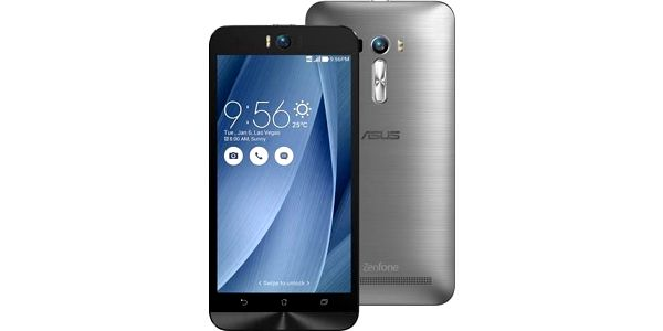 Asus ZenFone Selfie ZD551KL, stříbrná; 90AZ00U6-M01760