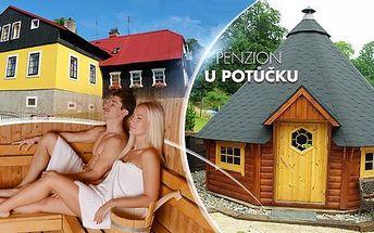 Jizerské hory, Smržovka na 3, 4 nebo 5 dní pro 2 osoby: plná penze, grilování, grilování