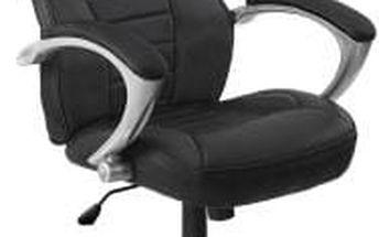 Kancelářská židle Hawaj racing Deluxe černá