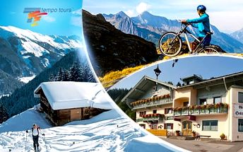 Rakousko, Tyrolsko - Brixental na 4 dny pro 1 osobu s ALL INCLUSIVE light nebo polopenzí