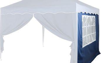 Náhradní boční stěna ke stanu s oknem - modrá