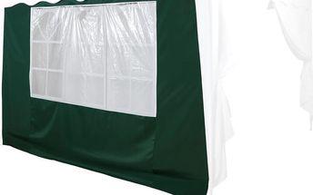 Náhradní boční stěna ke stanu s oknem - zelená
