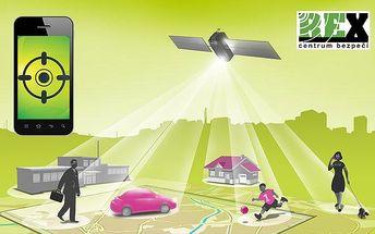 Roční sledování mobilu s OS Android pomocí GPS od REX Tracking