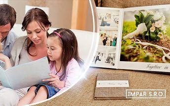 Fotokniha nebo fotosešit: 40-100 stran pro vzpomínky, formáty A4 nebo A5