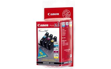 Canon cartridge CLI-526 multipack - C+M+Y inkoust do IP4850, MG5150, MG5250