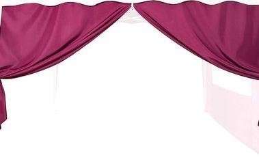 Náhradní boční stěna ke stanu se zipem - červená