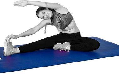Podložka na cvičení MOVIT 190 x 60 x 1,5 cm královská modrá