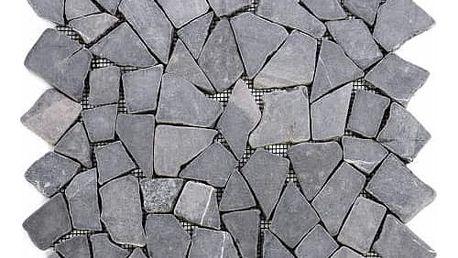 Divero 9588 Mramorová mozaika - šedá obklady 1 ks